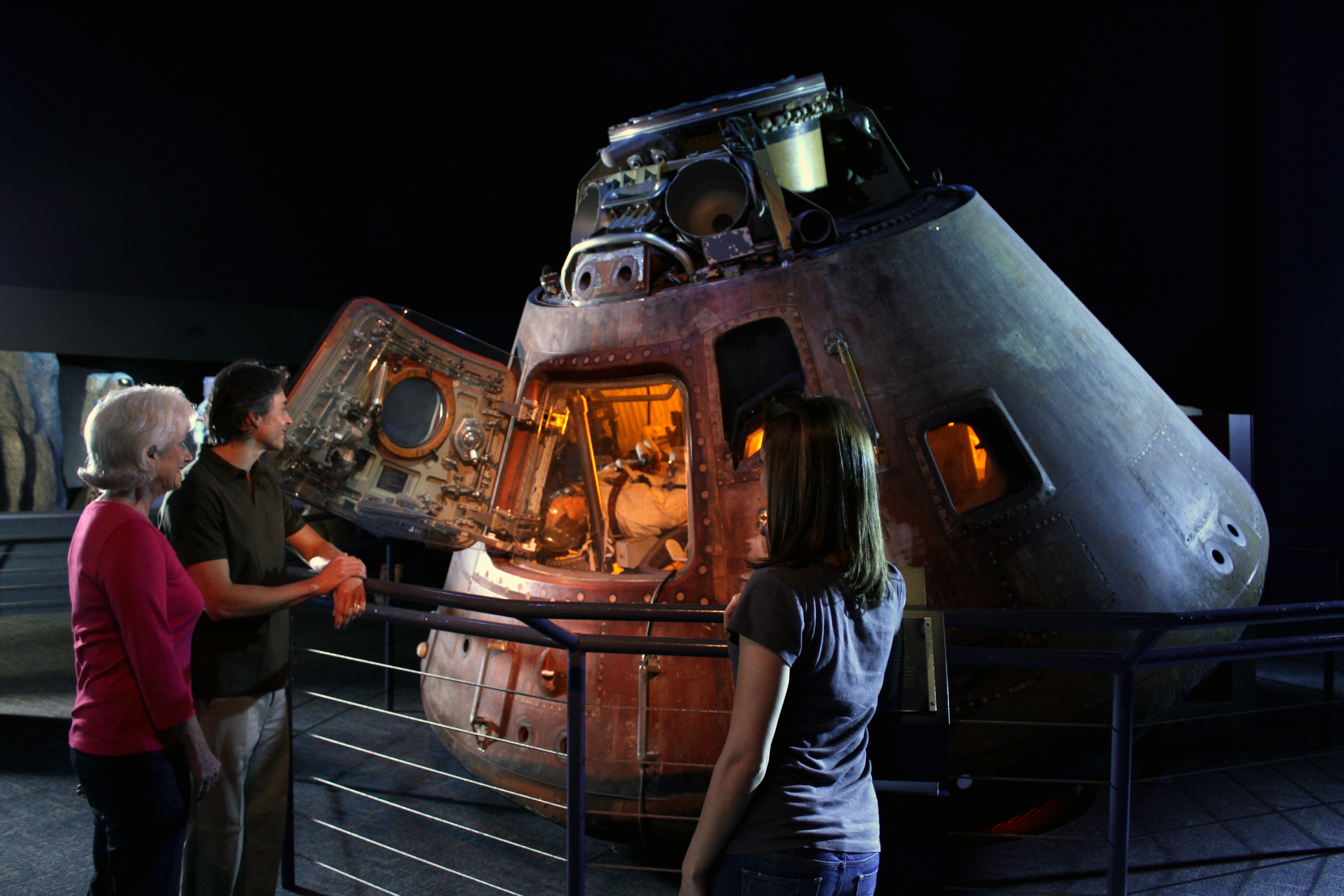 Houston Apollo Command Module 17 (page 2) - Pics about space