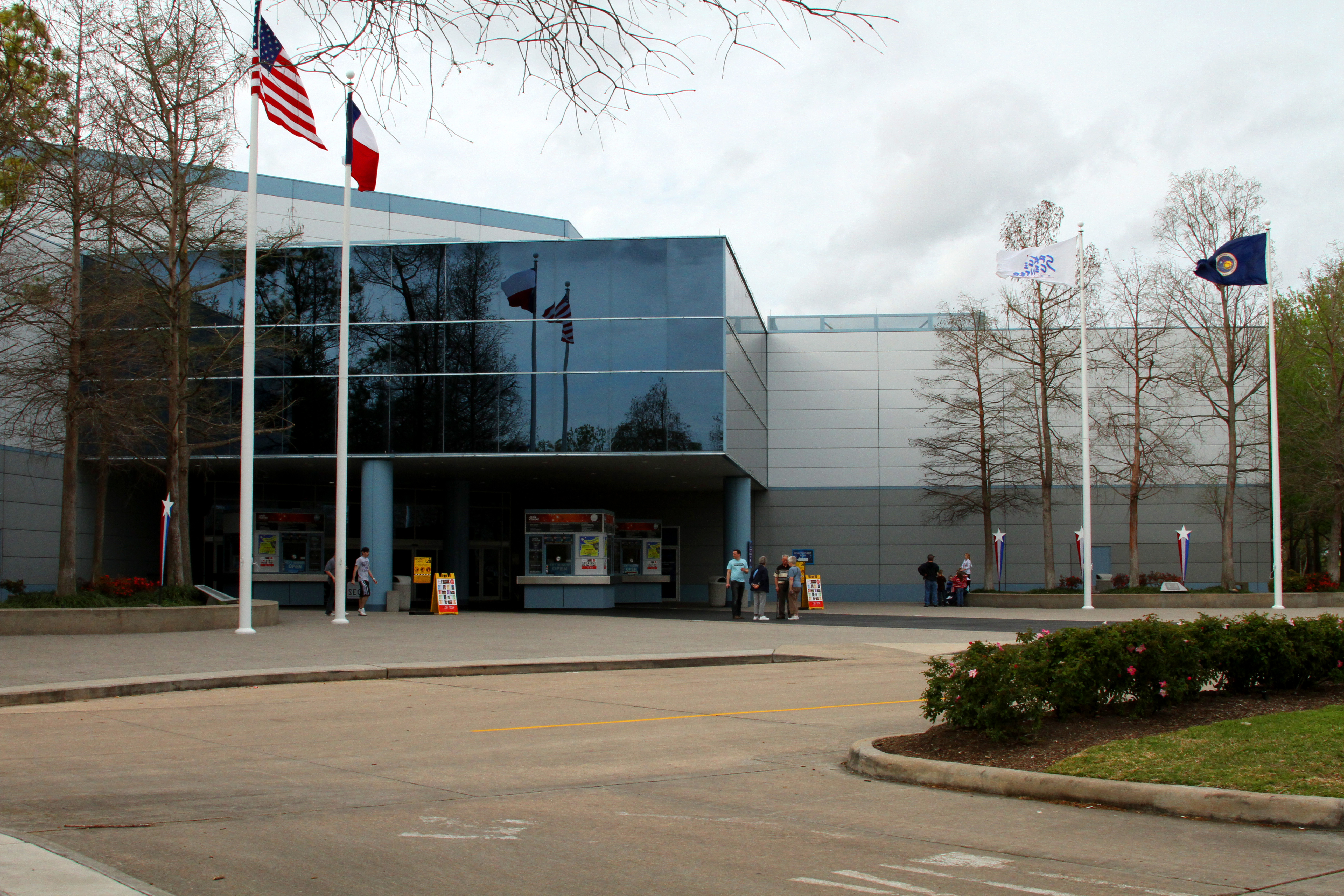 NASA Houston Space Center Building - Pics about space