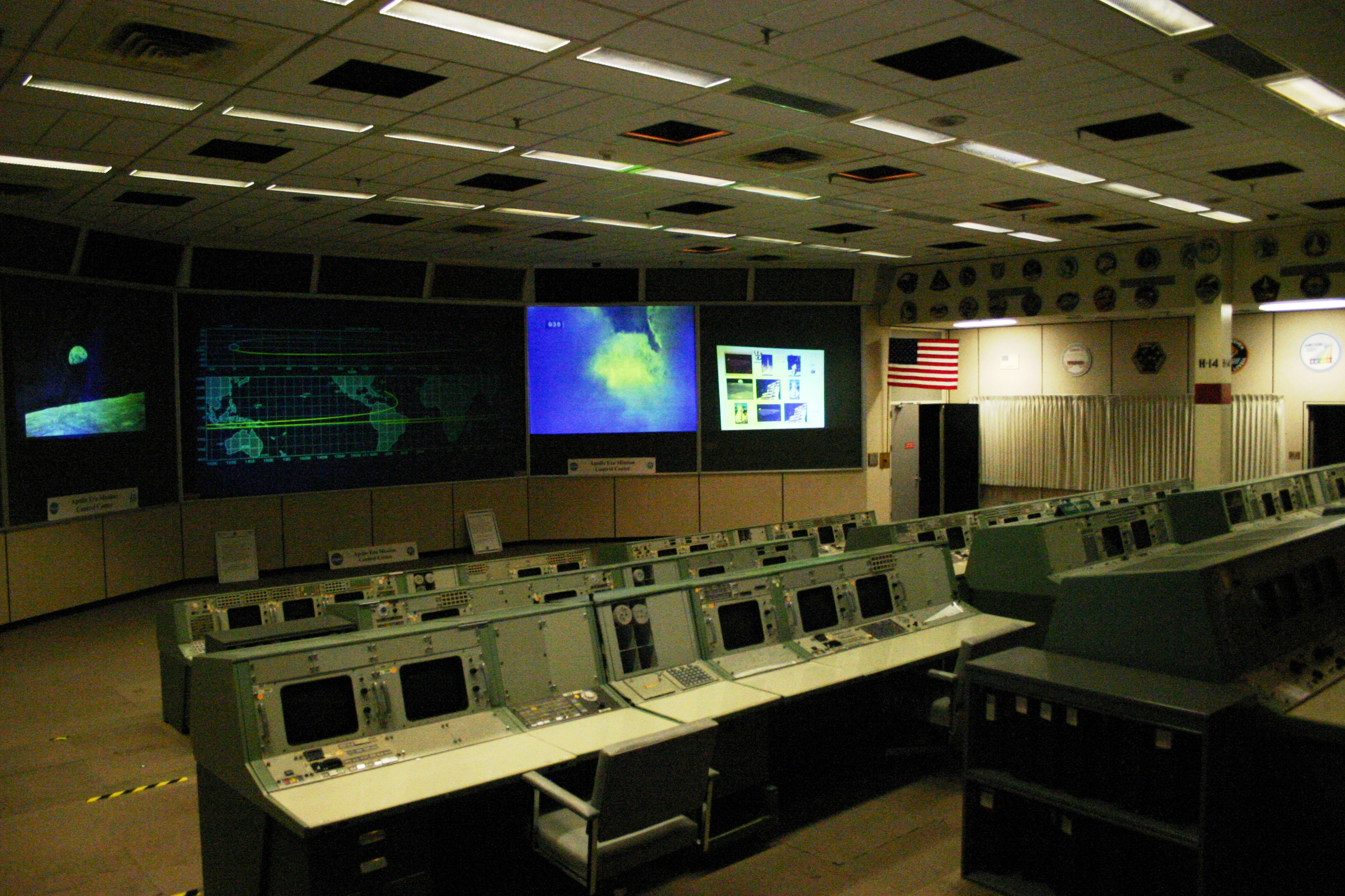 houston mission control center - photo #3