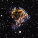 Stellar explosion is observed by Hubble
