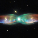 Hubble Sees the Wings of a Butterfly: The Twin Jet Nebula