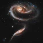 """Hubble sees """"Rose"""" of Galaxies"""