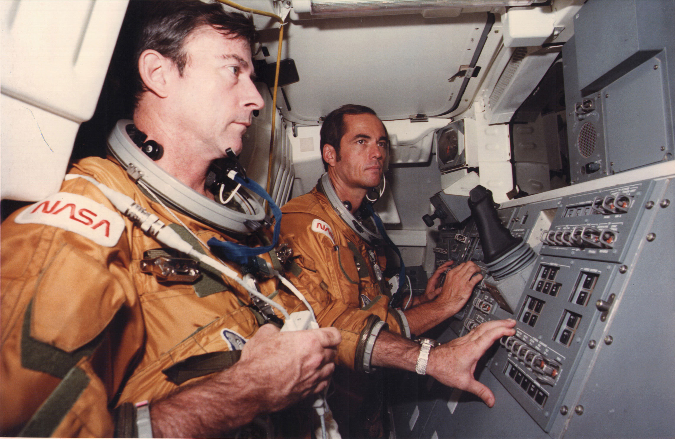 Commander John Watts Young had the longest astronaut career and is the only person to pilot four different classes of spacecraft.