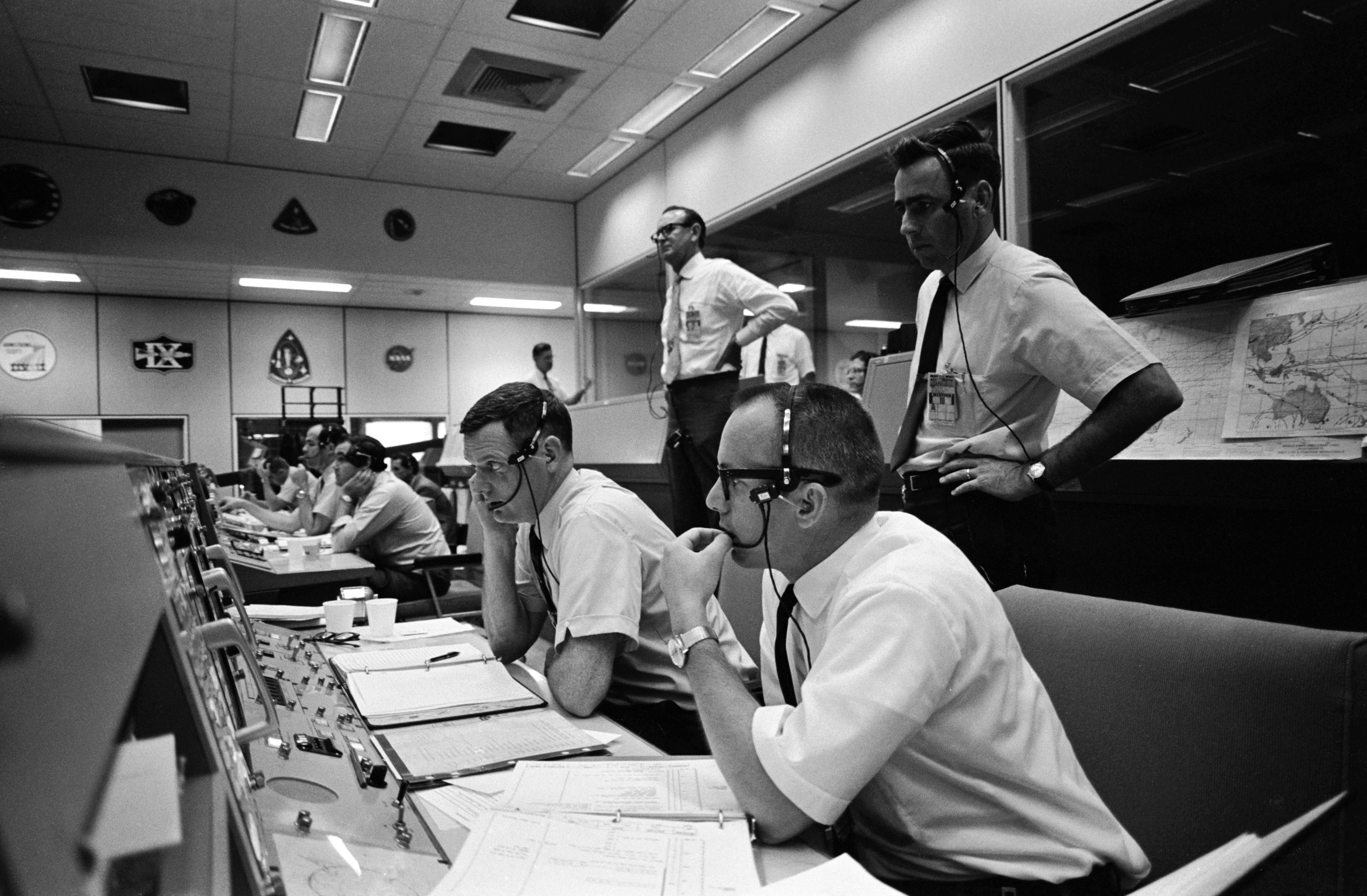 Image result for houston space center Apollo Mission Control Center