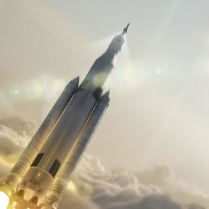 NASA Concept art of Space Launch System