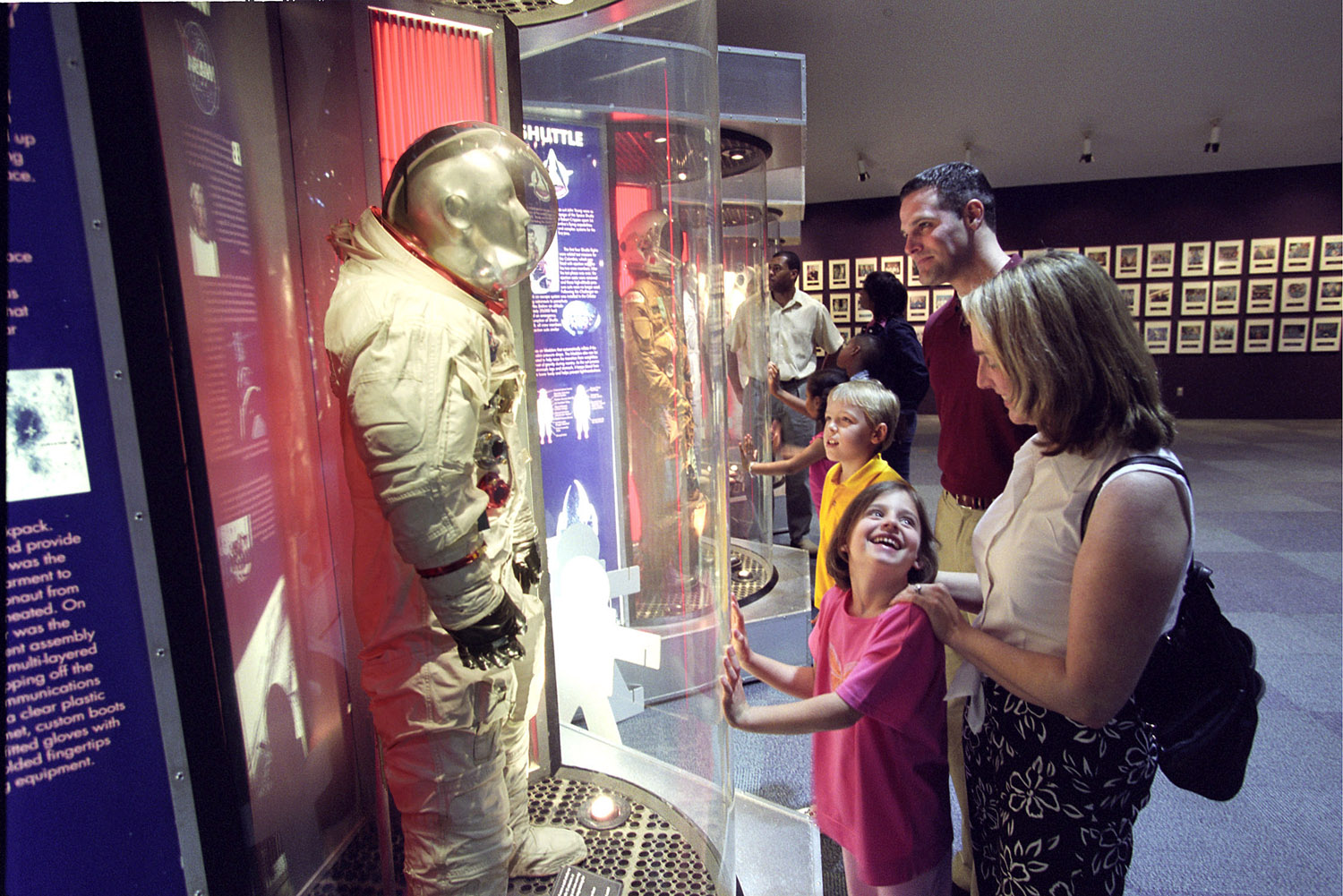 Space Center Houston | Family in Astronaut Gallery