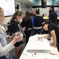 Space Center U students design and create a habitat to support life on Mars