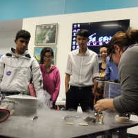 The cyro-capsule test allows students to experience hands-on learning about thermal systems