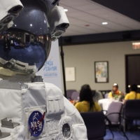 Brunch with an astroaut at Space Center Houston
