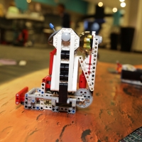 A student's robot in the space field