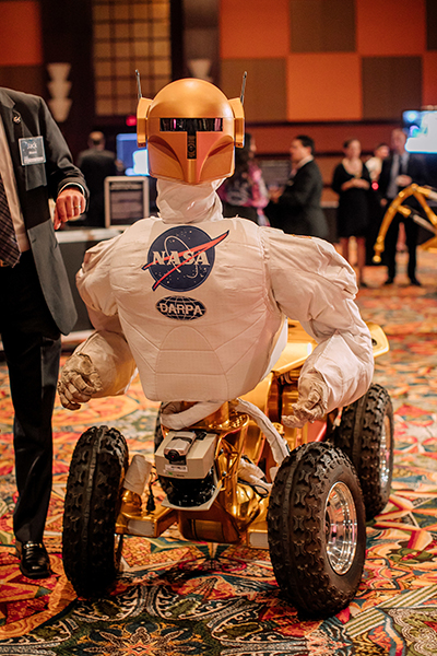 Robonaut 1 at the 2017 Galaxy Gala.