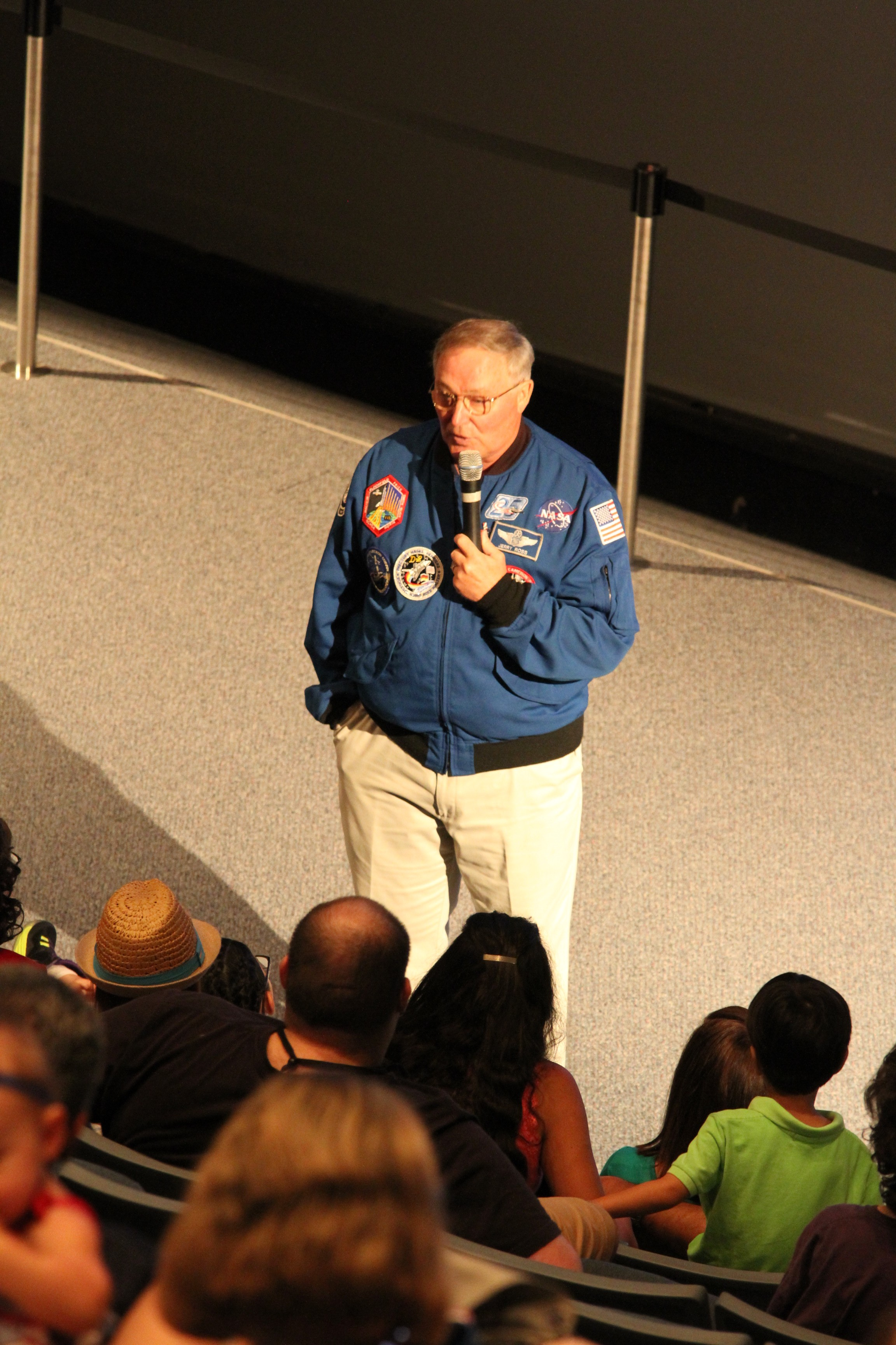 Astronaut Jerry Ross