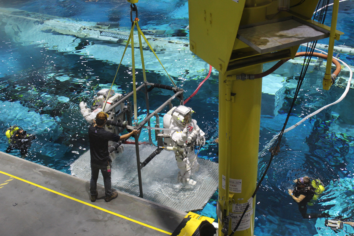 Neutral Buoyancy Lab tour