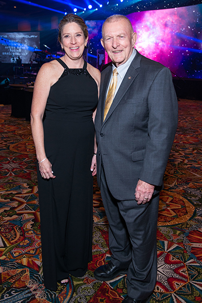 VIP guest Gene Kranz attends the 2017 Galaxy Gala.