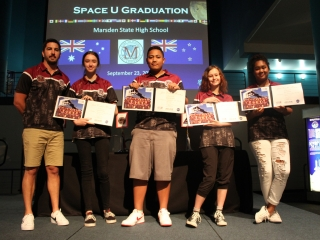 Space Center U graduation