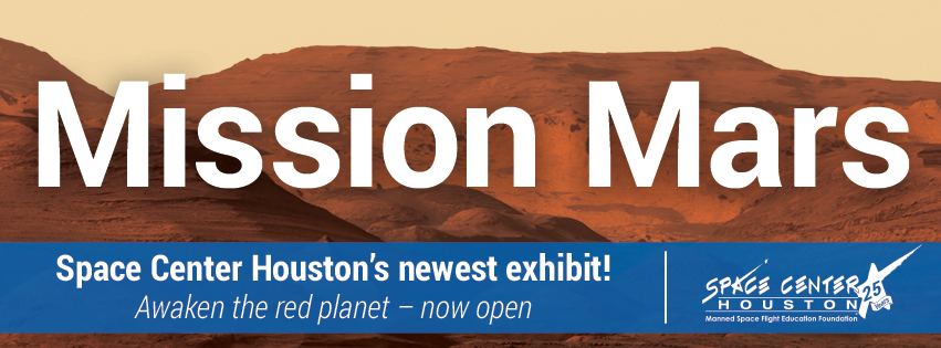 Mission Mars Now Open