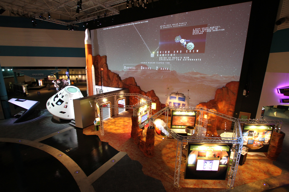 Mission Mars exhibit