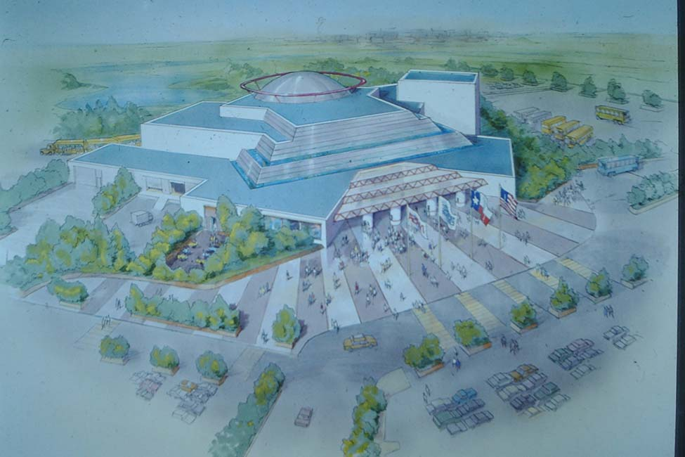 Artistic rendering of the center