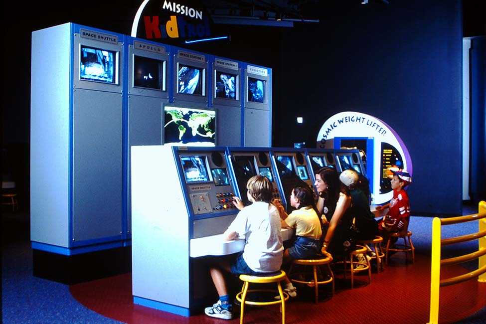 Guests give it a go at Mission Control