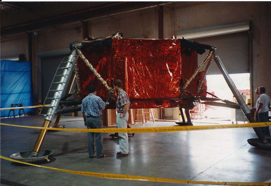 The Lunar Test Article 8 is assembled