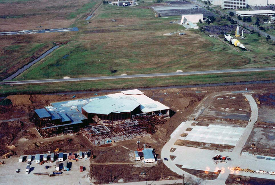 Space Center Houston is built
