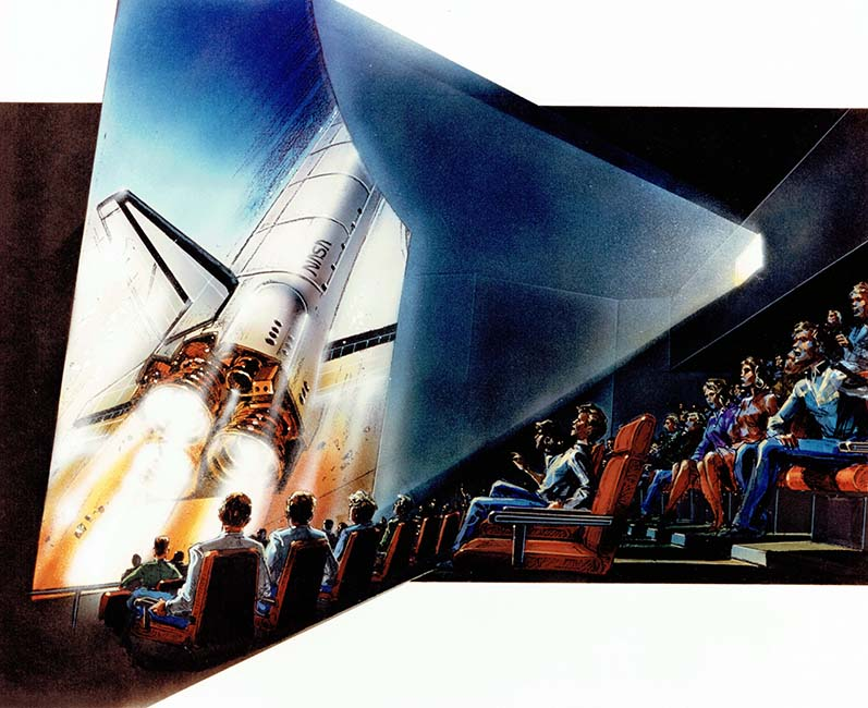 Artistic rendering of Space Center Theater