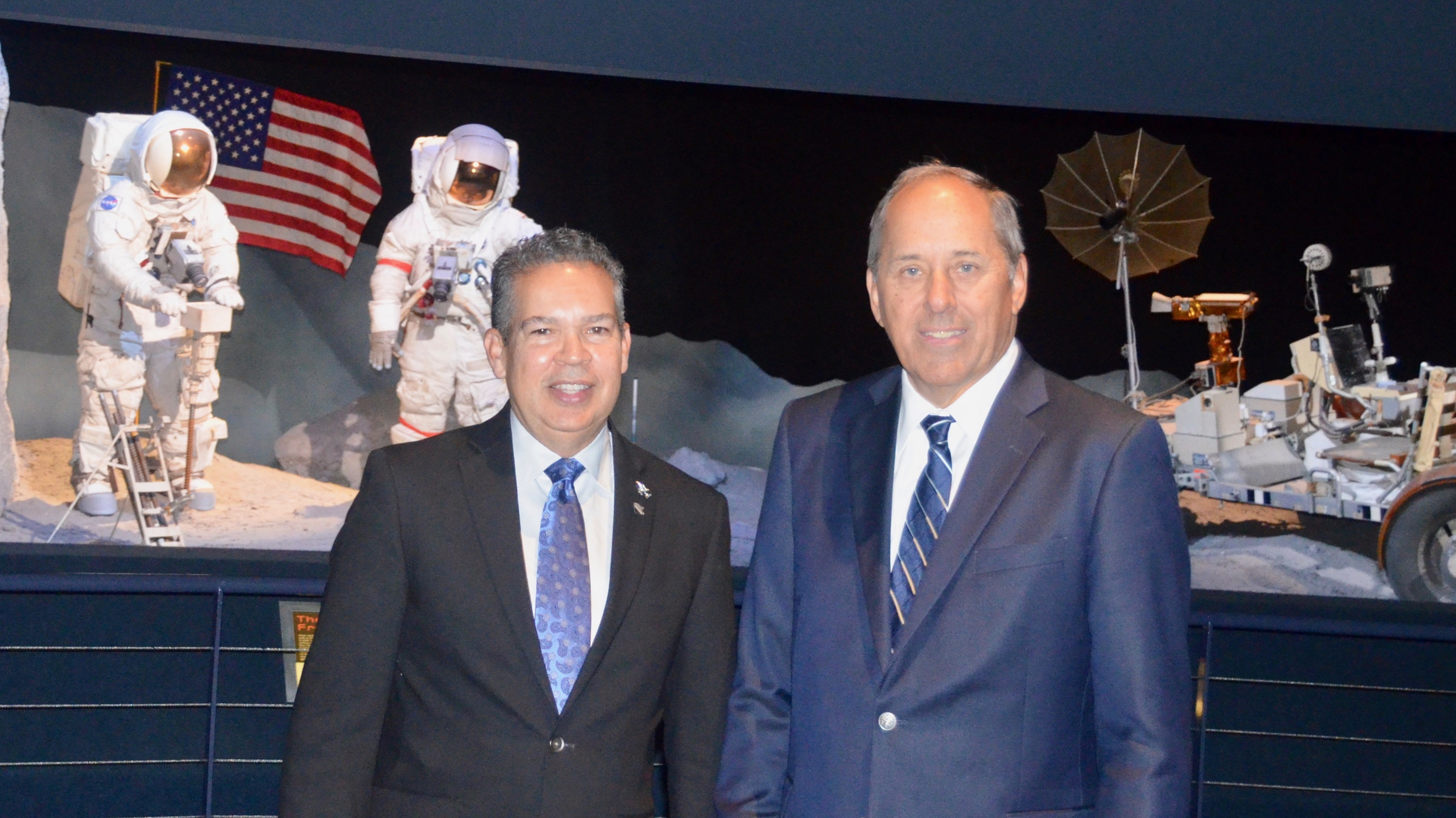 New Chair, Board Members Join Space Center Houston