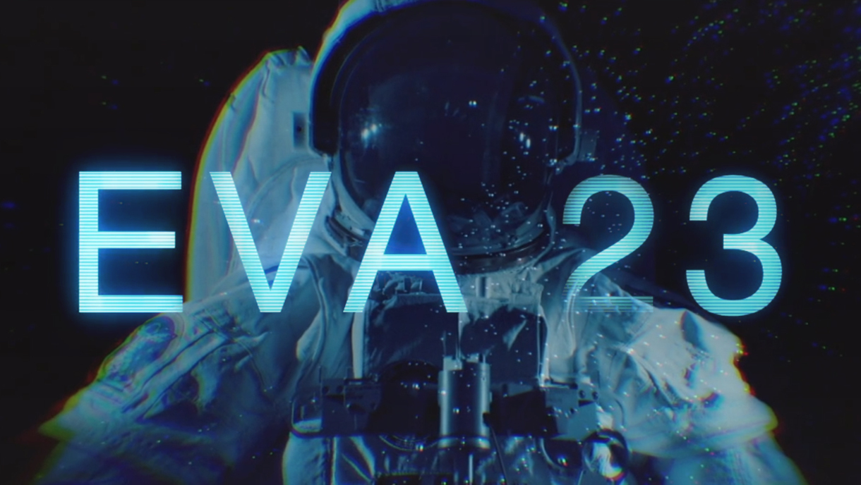 EVA 23 film graphic