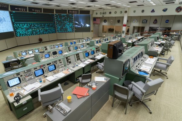 Restored Apollo Mission Control Center