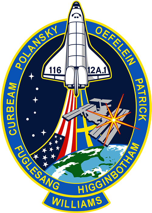 STS-116 Discovery mission patch