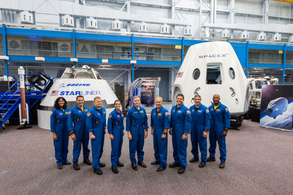 NASA announces Commercial Crew astronauts
