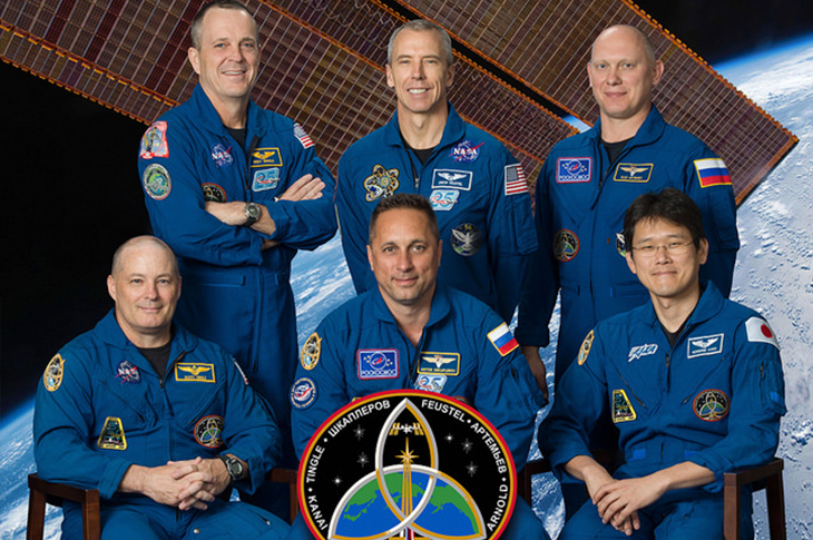Expedition 54/55 astronaut debrief Aug. 7