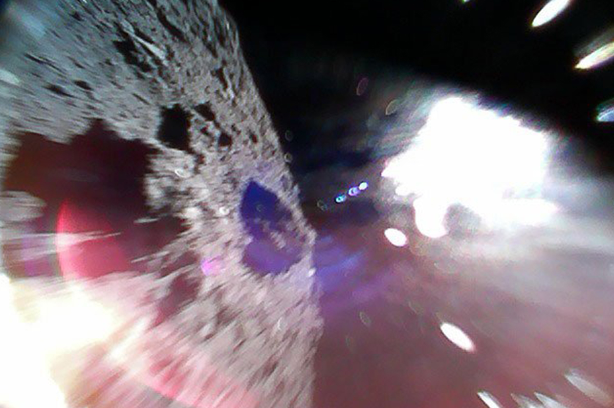 Image of the Week: Hayabusa2 and the Asteroid