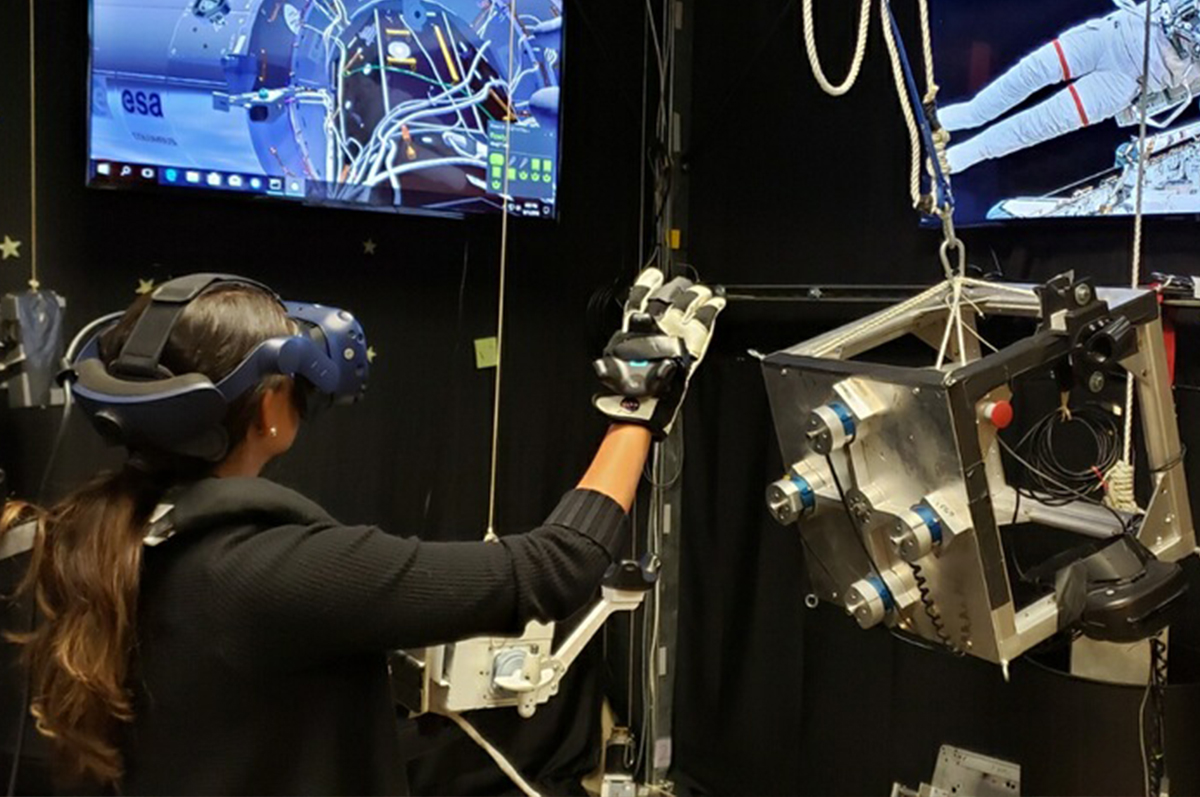 How NASA uses virtual reality to train astronauts