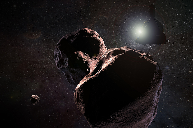 New Horizons makes historic flyby