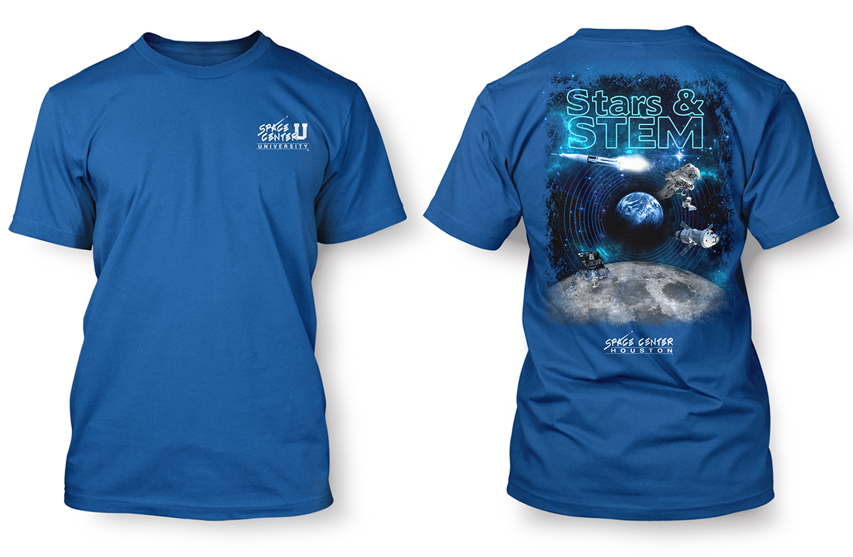 I camped in space t-shirt