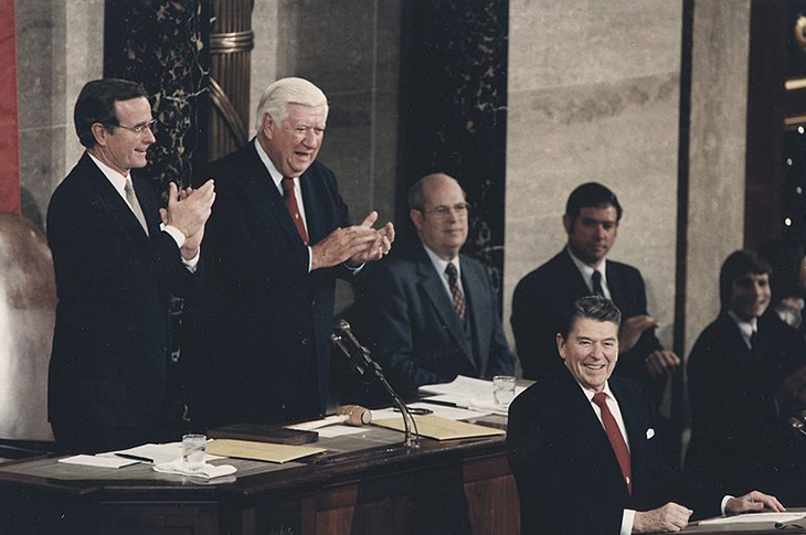 State of the Union address on Jan. 25, 1984 given by President Ronald Reagan.