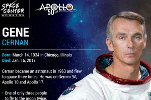 Apollo 50th: Astronaut Gene Cernan Bio