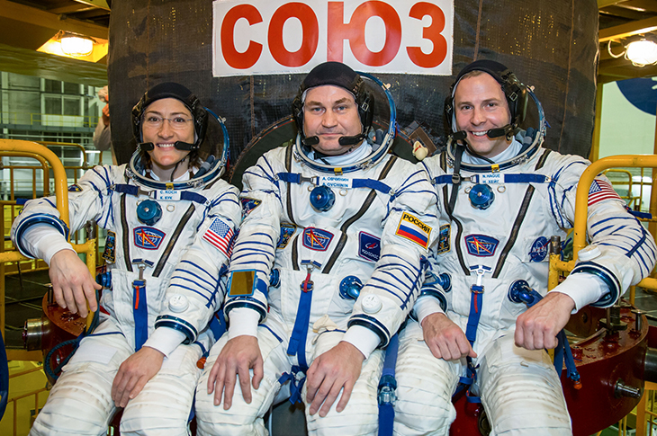 Astronauts to make 2nd attempt to get to space station after launch aborted in October