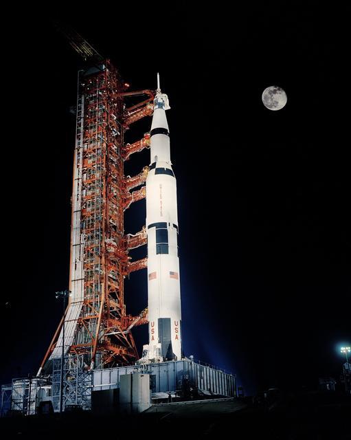 Nighttime launch, Apollo 17