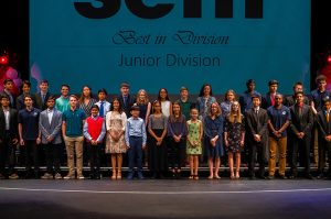 Space Center Houston presents awards to Science and Engineering Fair of Houston participants