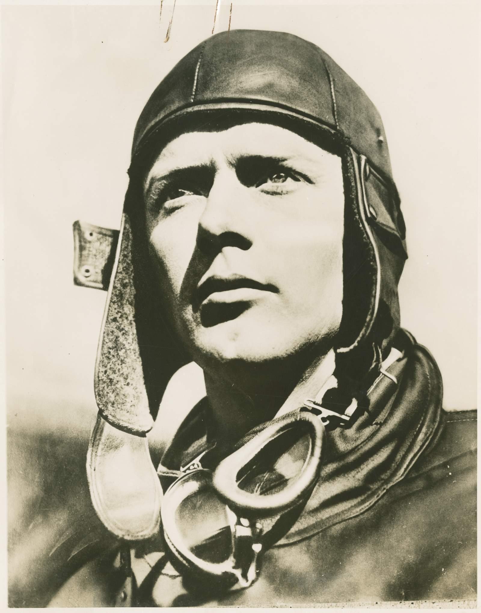 Charles Lindbergh portrait