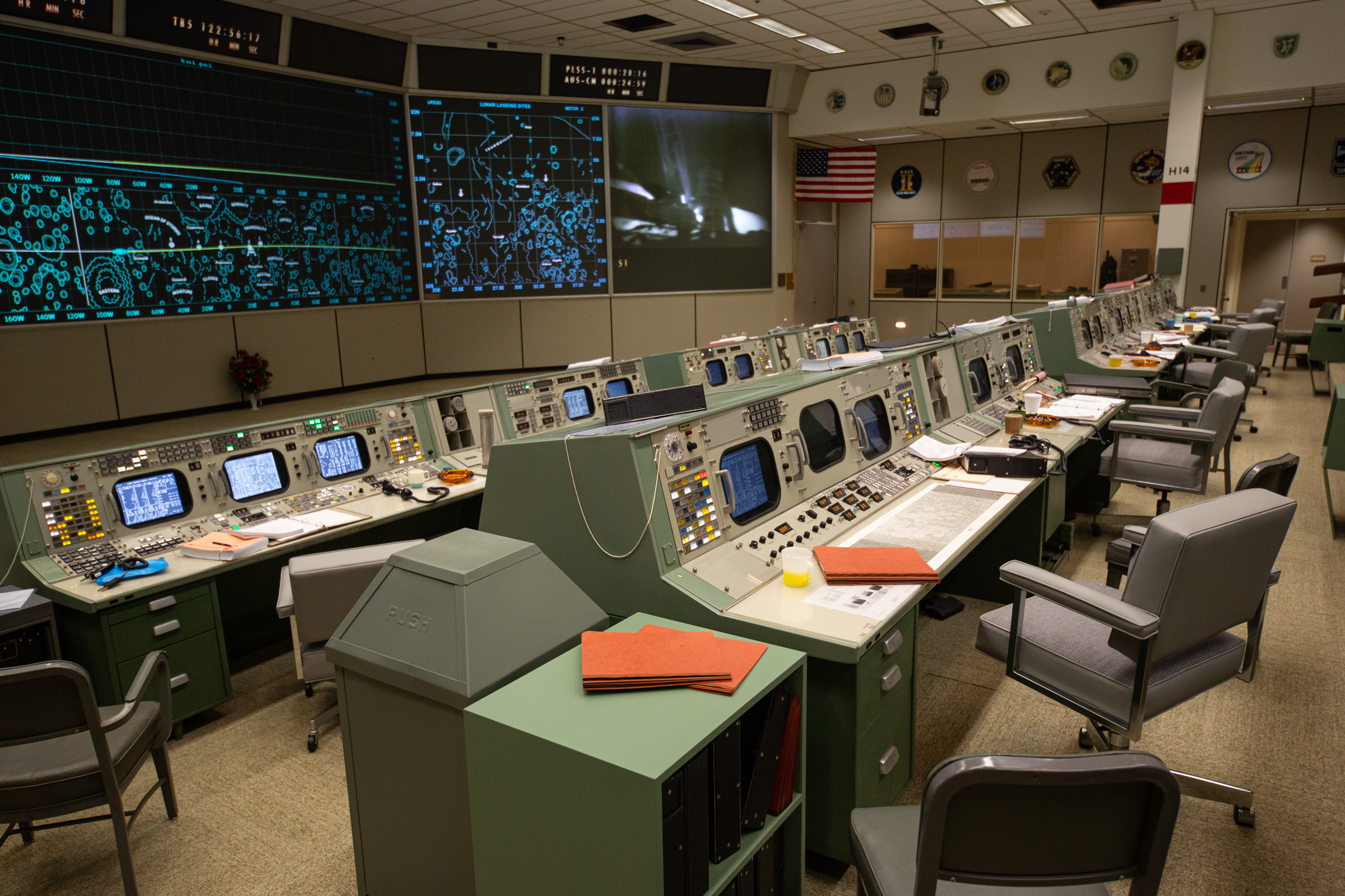 Space Center Houston Welcomes Visitors to the Newly Restored Apollo Mission Control Center