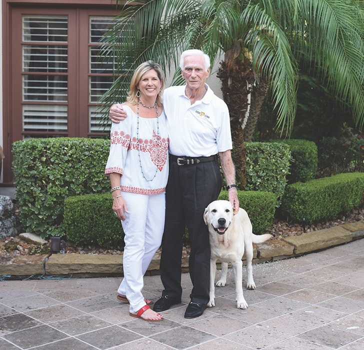 Tracy Cernan Woolie with her dad Apollo astronaut Gene Cernan