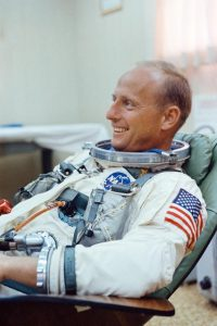 Pete Conrad suited up