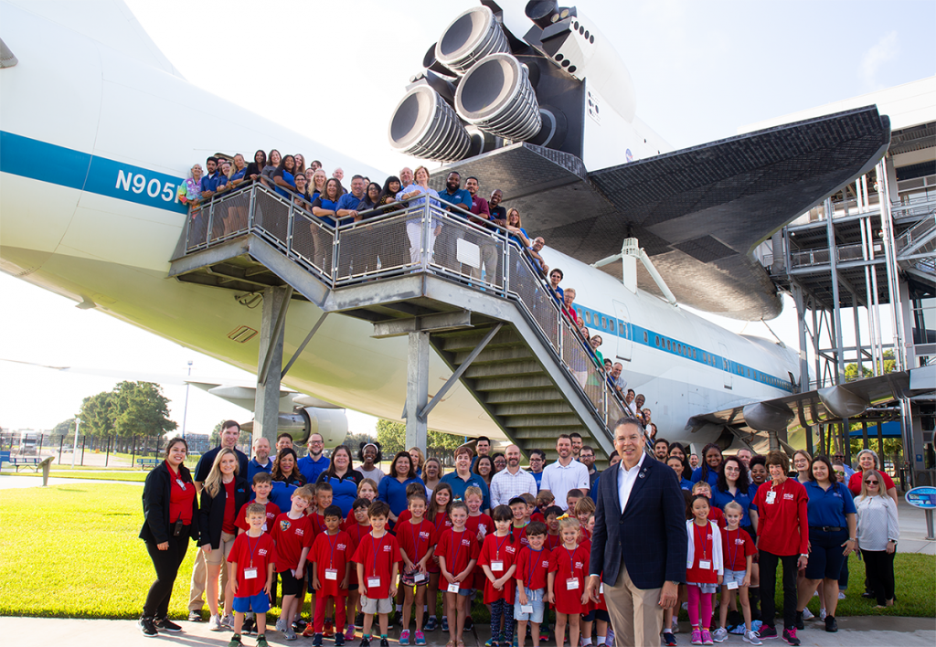 Space Center Houston CEO honored by Most Admired CEO Awards