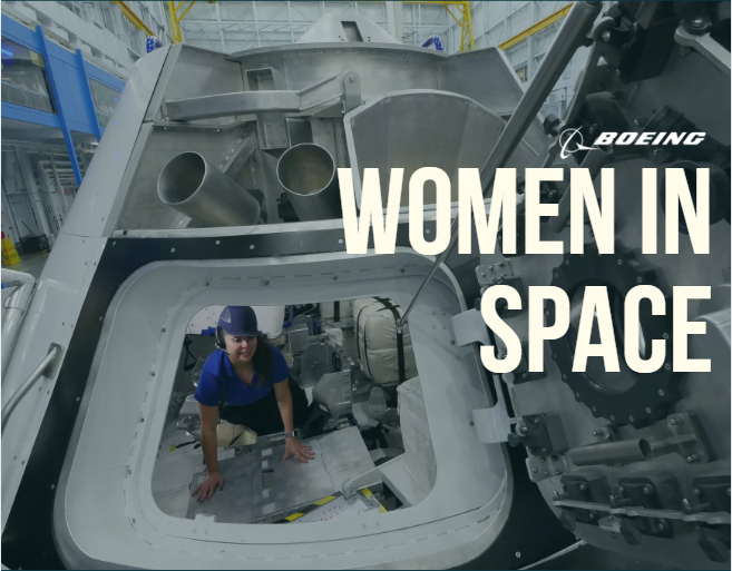 Boeing women in space