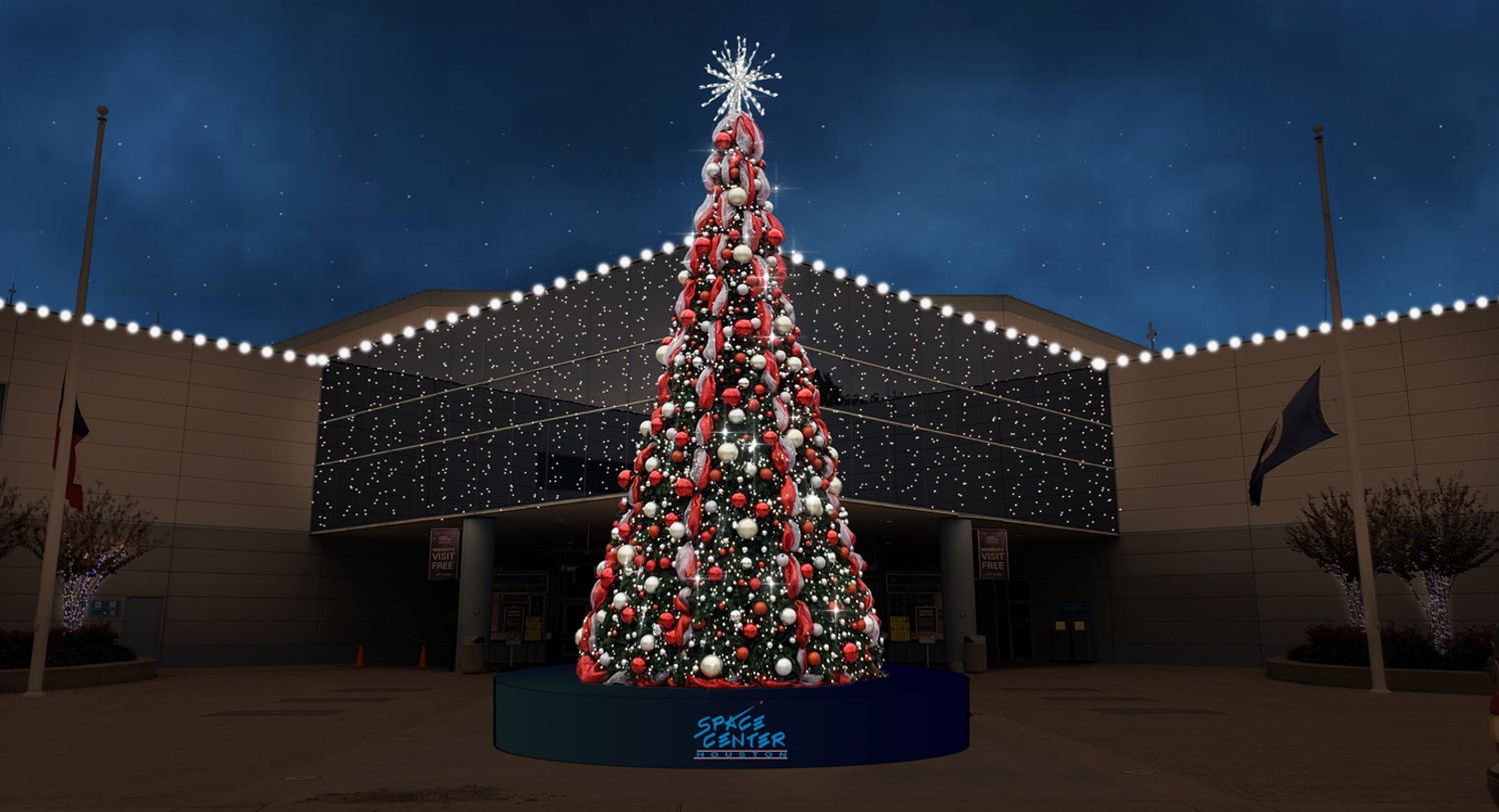Space Center Houston to Open All-New Holiday Experience