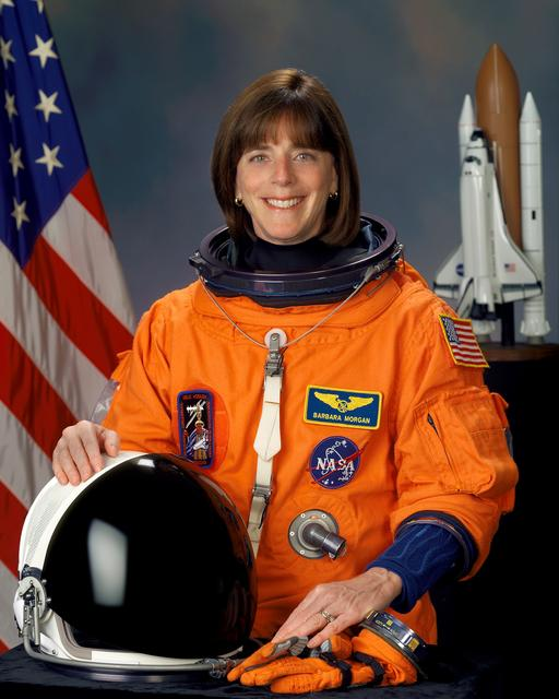 Barbara Morgan astronaut portrait