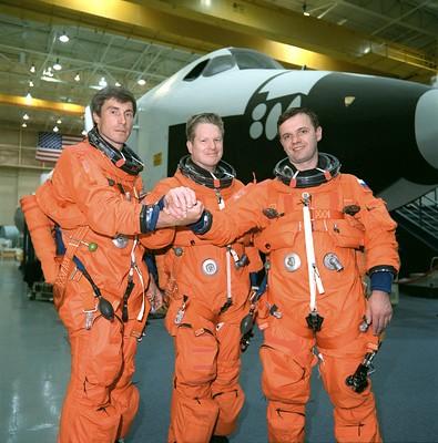 Expedition 1 crew.
